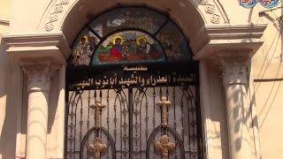 تعرف على معالم كنيسة السيدة العذراء مريم والشهيد أبانوب بالغربية