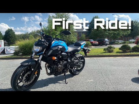 2019 Yamaha MT-07 First Ride/Review