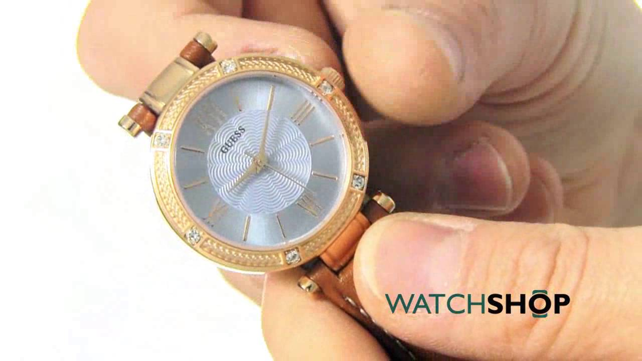 ff36319ae0ed Guess Ladies  Park Ave South Watch (W0838L2) - YouTube