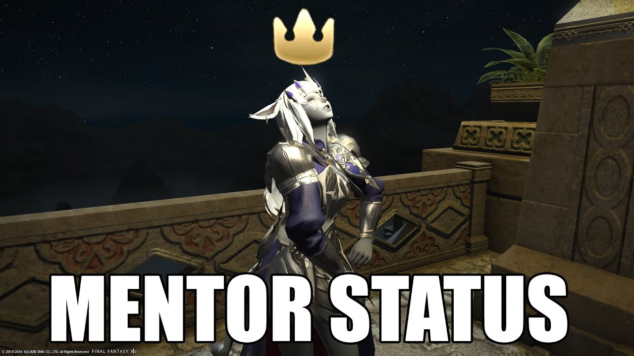 The Ffxiv Mentor Crown Satire Funny Machinima Youtube