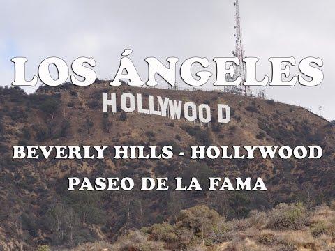 Los Ángeles - Día 1 - Beverly Hills, cartel de Hollywood y Paseo de la Fama