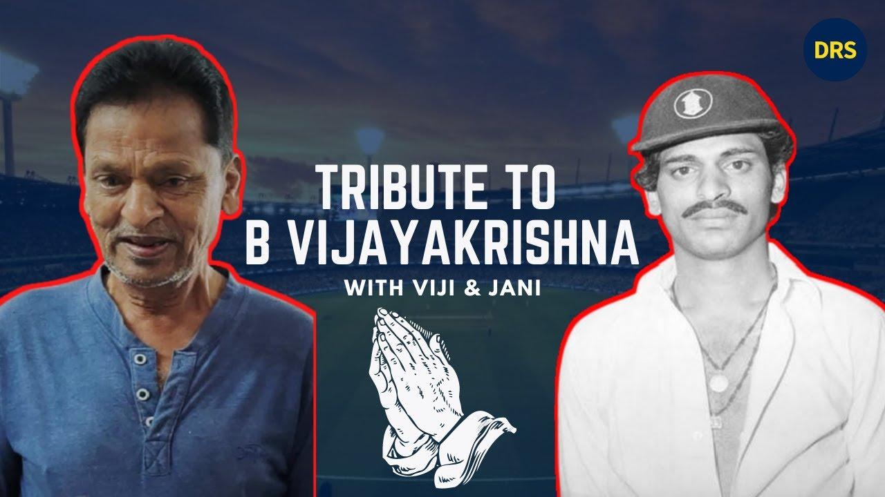 Tribute to B Vijayakrishna | The Dressing Room Show