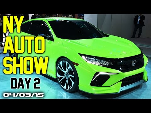 2015 New York International Auto Show Day 2 - Fast Lane Daily