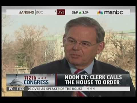 Senator Menendez Discusses the Upcoming 112th Congress on MSNBC