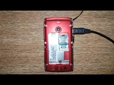 Como desbloquear el LG-T300 Temporalmente