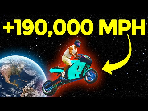 Going +100,000 mph in GTA 5, (WORLD RECORD) |