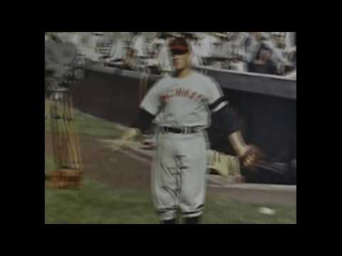 1940s Chicago Cubs vs Cincinnati Reds Wrigley Field COLOR (Home Movie)