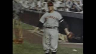 1940s Chicago Cubs vs Cincinnati Reds Wrigley Field COLOR (Home Movie)