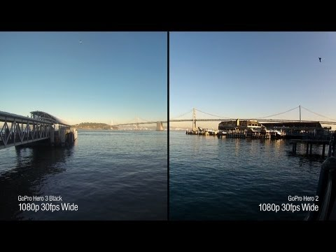 Tested: GoPro Hero 3 Black Edition vs. GoPro Hero 2 Video Quality