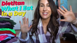 Dietitian What I Eat In a Day - Macros