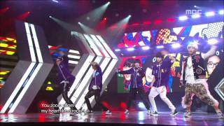 B1A4 - Beautiful Target 비원에이포 - 뷰티풀 타겟 Music Core 20111105 thumbnail