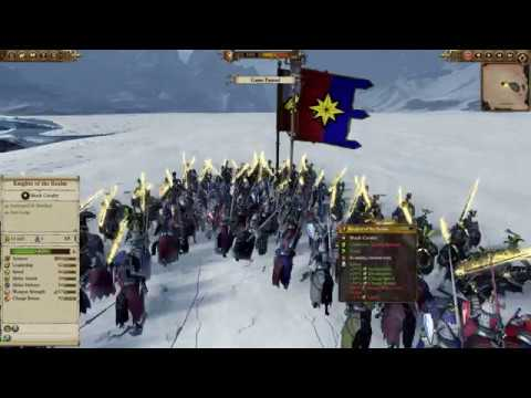 Total War Warhammer Mechanics - Quick Lance Formation test