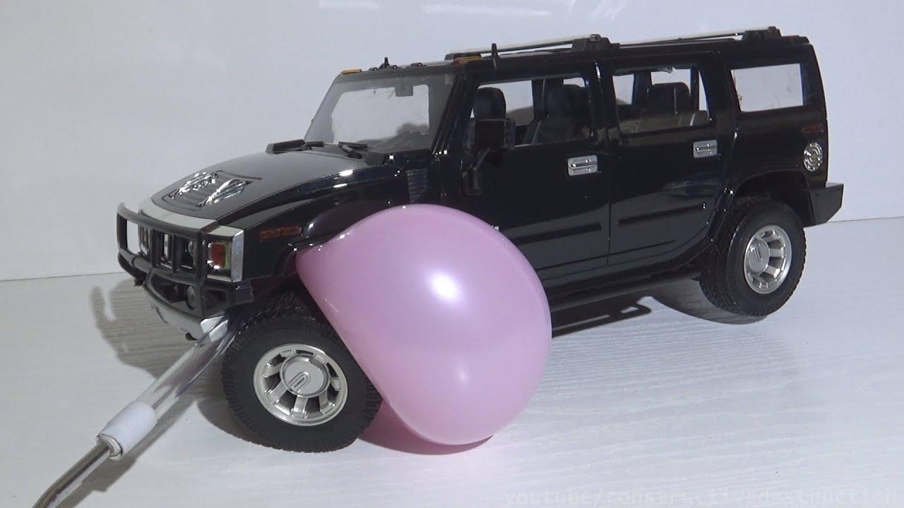 Balloons vs RC Cars EXPERIMENT