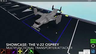 Vetrina Roblox: Bell Boeing V-22 Osprey