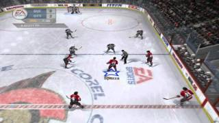 NHL 06 Sabres @ Senators - Dynasty Mode Gameplay Part 2 HD