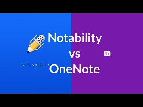 "Notability vs OneNote on the iPad pro (12.9"")