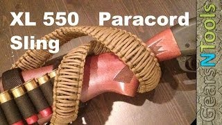 Triple Cobra Weave Paracord 550 Gun Sling Shotgun / Rifle How to DYI Step by Step Instructions