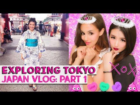 FIRST TIME IN TOKYO! | Japan Vlog 1