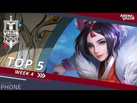 Top 5 Plays for Week 4! | Valor Series [NA] - Arena of Valor