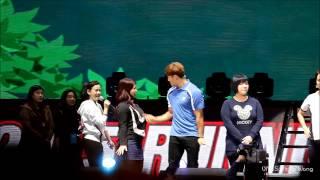 劉在錫可愛的比手畫腳XD @ Running man Taiwan fan meeting 150117