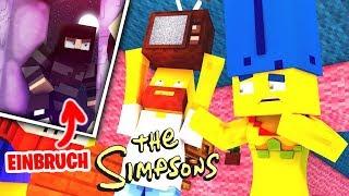 EINBRUCH bei den SIMPSONS -- Minecraft [Deutsch/HD]
