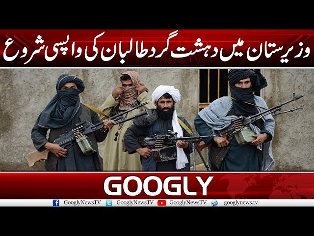 Taliban Have Staged A Come Back In Waziristan | Googly News TV