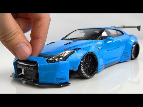 How to Build a Super Realistic Nissan GT-R R35 Liberty Walk Step by Step