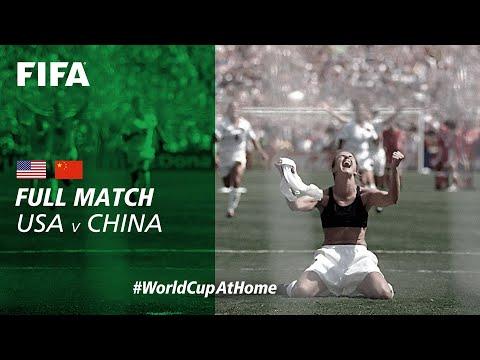 #WorldCupAtHome | USA v China PR (USA 1999)