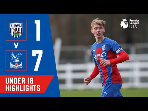 U18s SCORE 7 ON THE ROAD & STAY TOP OF THE LEAGUE! West Brom 1-7 Crystal Palace | U18 PL Highlights