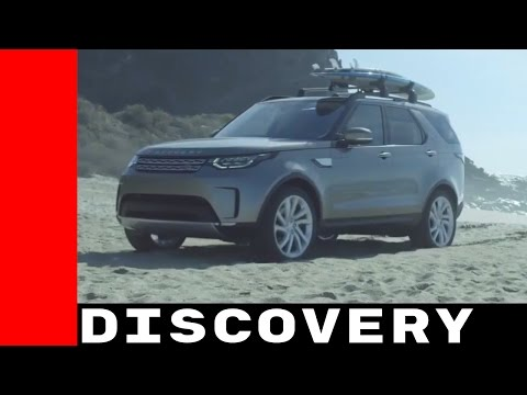 Surfing With 2017 Land Rover Discovery and Laird Hamilton
