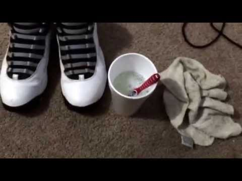 How to Clean Your sneakers: Homemade sneaker cleaner!