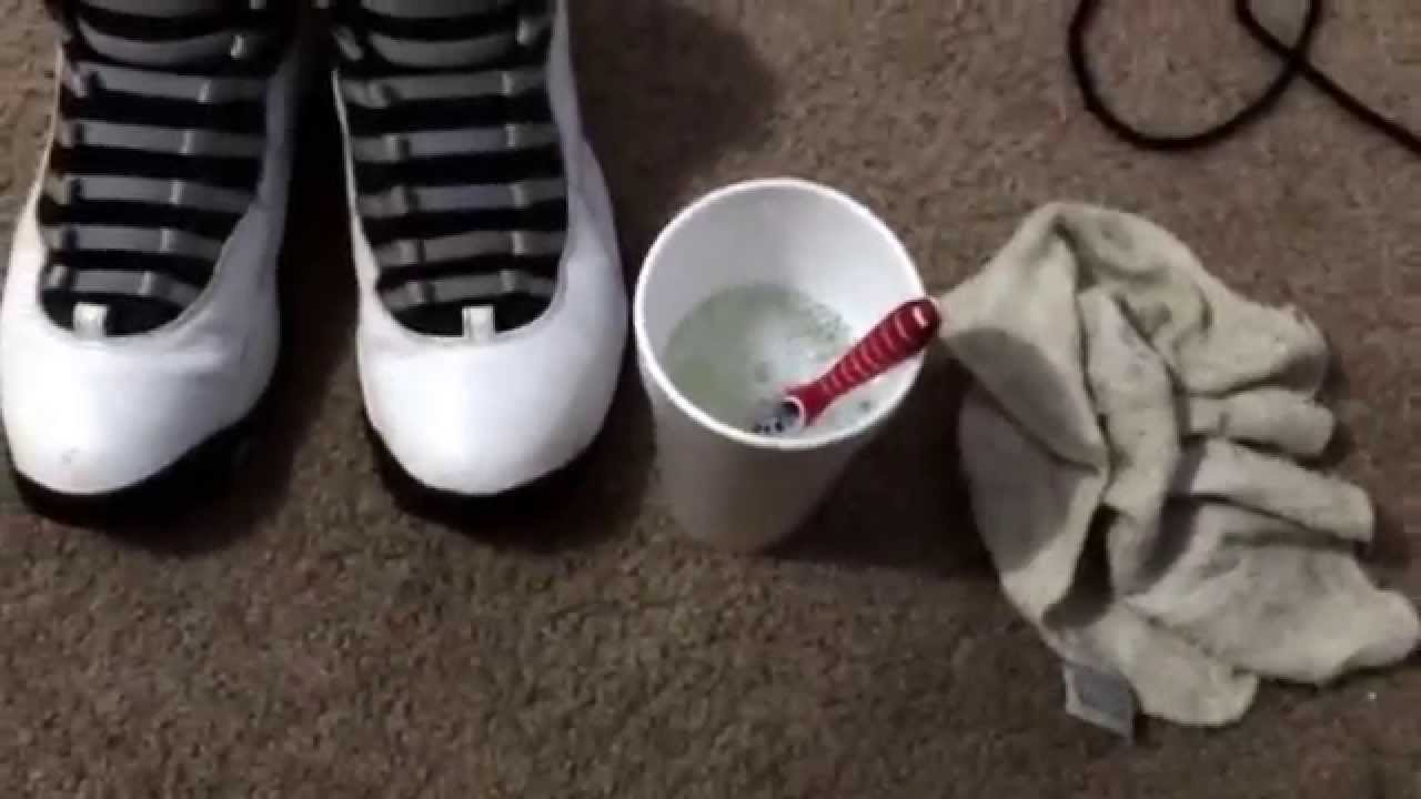 sneakers: Homemade sneaker cleaner