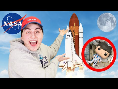 MrBeast Helped Me Send A Funko Pop To The Moon!