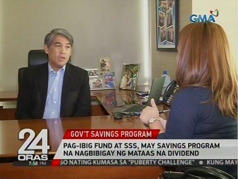 24 Oras: PAGIBIG Fund at SSS, may savings program na nagbibigay ng mataas na dividend