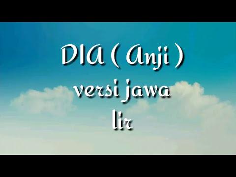 Dia ( Anji ) versi jawa ( lirik & cover )
