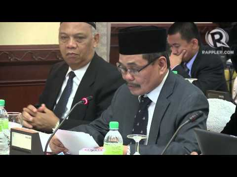 MILF chief negotiator Mohagher Iqbal - opening statement 43rd round of talks