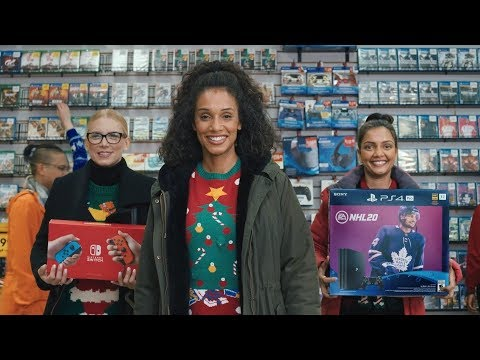 EB Games Canada Holiday Commercial (2019)