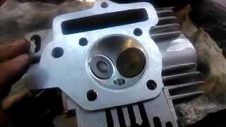 ГБЦ ТТР 125 с увеличенными клапанами и камерой сгорания(, 2014-07-09T17:16:23.000Z)