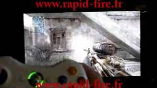 rapid fire pour manette Xbox 360 call of duty 4