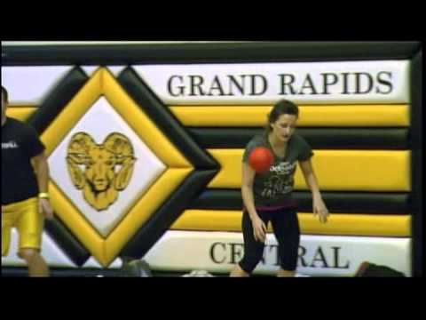 Awesome Coed Dodgeball Segment by WZZM 13 News (Grand Rapids Sport & Social Club)