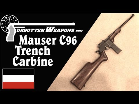 Prototype Mauser 1917 Trench Carbine
