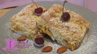 Абрикосовый пирог с вишней | Очень нежный десерт | Apricot pie with cherry