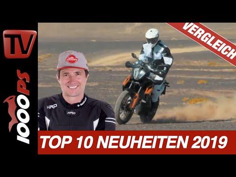 Motorrad Neuheiten 2019 in der Praxis - Die Top 10 Motorradmodelle für die aktuelle Saison