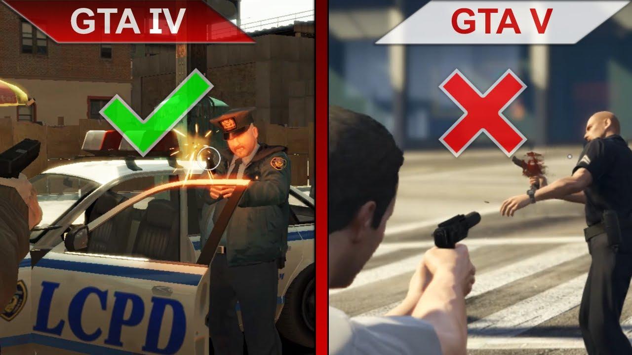 ATTENTION TO DETAILS 4   GTA IV vs. GTA V   PC   ULTRA