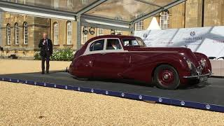 Salon Privé 2019: 1939 Bentley Corniche (a 1 of 1 car)