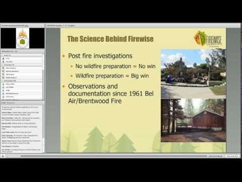 Firewise Communities: A Tool for WUI Residents