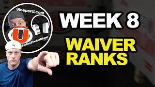 Week 8 Waiver Wire Rankings   Fantasy Football 2019
