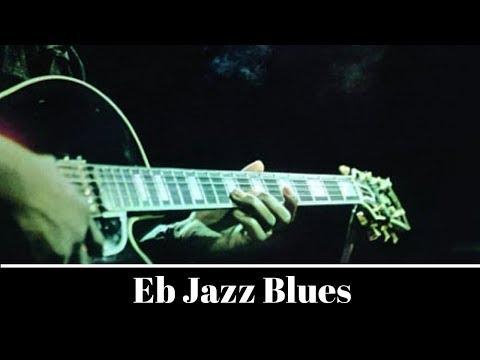Eb Jazz Blues Backing Jam Track