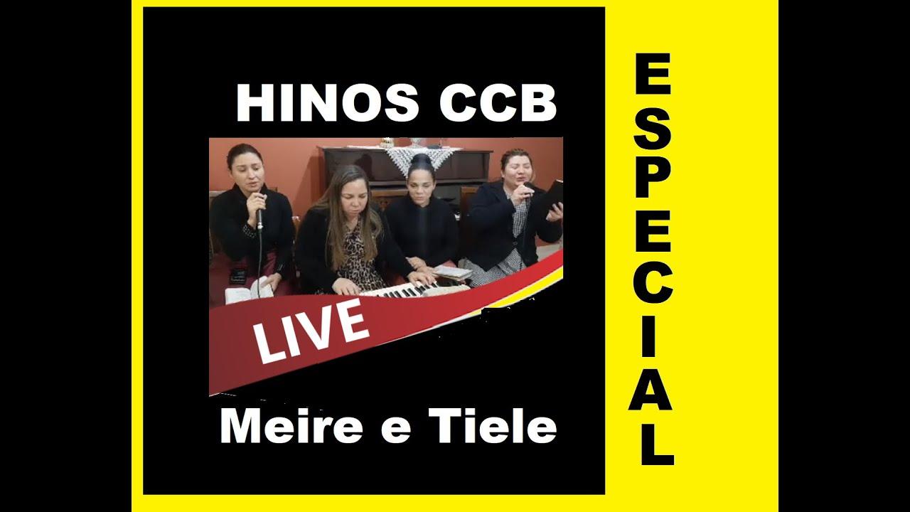 Uma live especial: Denise, Meire, Tiele e Jane - Hinos e louvores CCB