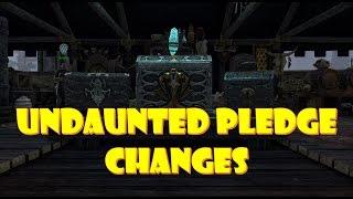 Undaunted Pledge Changes